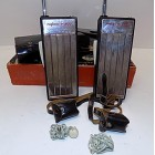 Vintage 1960's CB (Pair) walkie-talkies Fanon-Masco