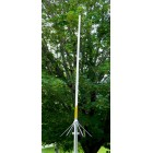 Antenna Base Amateur Dual-Band White FiberGlass