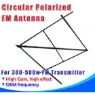FM Radio Station NEW Broadcasting Circular Polarized  Antenna 500Watts