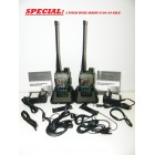 Baofeng UV5RE - Special Purchase - Camoflage Army color -  2X Dual-Band Radios -