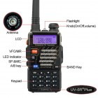 Baofeng UV5R Plus ++  5 Watts - Dual-Band - #1 Choice