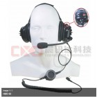 Professional Airport Grade - Headset/Noise Cancel Boom Microphone K-Type Plug