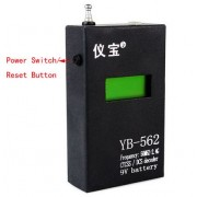 Digital Portable Frequency Counter 9V battery
