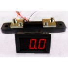 "Digital Amp Meter DC (""0.56"") 0-50A Four wires Three digits Current Panel with Shunt"
