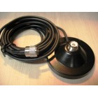 "Antenna 4 1/2""  Mag Mount UHF SO-239 Type"