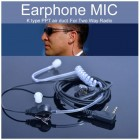 Surveillance A Earpieces -  ( Better!) Solid Quality - K-1 PLUG
