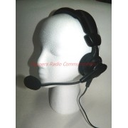Professional Headset/Earphone/Boom with LARGE PTT Button