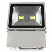 HIGH POWER ILLUMINATION Flood Outdoor Lighting HIGH POWER (Equivalent 800 Watts ( Waterproof Grey Housing Cool White )