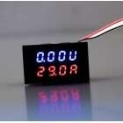 Digital and Amp/Voltage Meter ( Two in one) - 100V 50A DC LED with 50 Amp shunt included!!