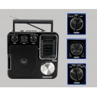 Retro Radio Receiver with SD Card  - AM/FM/SWSD -