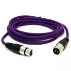 SAXLX-6 - Purple 6 Foot XLR Patch Cable