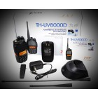 TYT TH-UV8000D -10W Dual - Kit with USB Prg cable/Vehicule Adaptor - Repeater X-BAND!