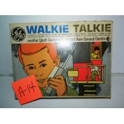 General Electric 1960's (Pair of Kid's) Walkie Talkies Brand NEW!